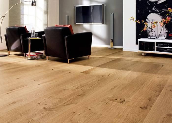 Parquet Contrecollé Chêne Premier / Confort / Rustique - 11 x 180 x 400-1600 mm - Verni Incolore - PROMO