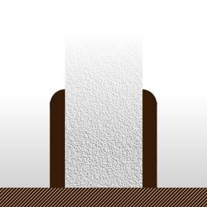 Plinthes Bouleau plaquées sur MDF - 13 x 80 mm - bord rond - verni mat