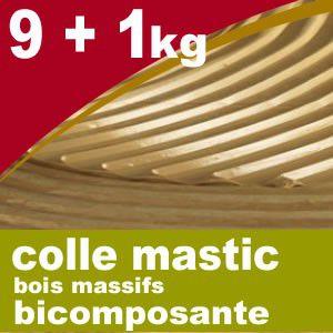 Colle parquets PU Bi composant Sigol - seau de 9 + 1 kg