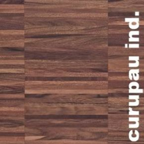 Parquet industriel sur chants en Curupau