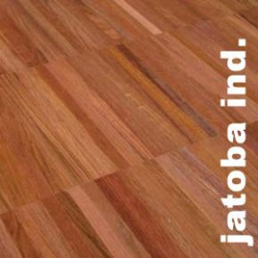 Parquet Industriel Jatoba Tamarindo - 14 x 17 x 300 mm sur chants