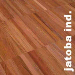 Parquet Industriel Jatoba Tamarindo - 14 x 17 x 300 mm sur chants