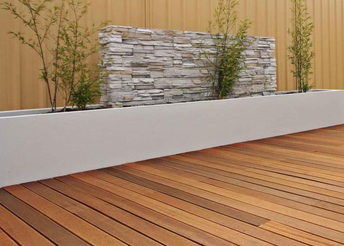 Terrasse - Lames parquet massif Cumaru 3 bandes - 19 x 140 x 3050 mm