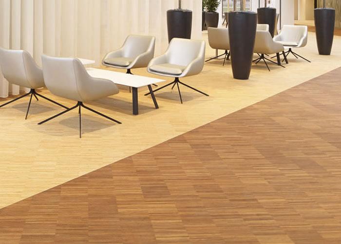 Parquet industriel Bambou BambooIndustriale Moso - 10 x 140 x 280 mm - Caramel - Vertical