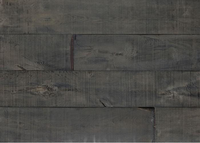 Parquet chêne effet wagon Black Antique - 20 x 200 mm - Huile Cire