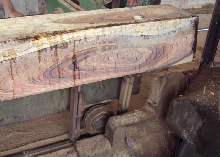 Parquet contrecollé Morado Rustique - 15 x 135 mm - brut
