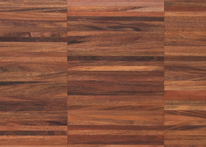 Parquet industriel Curupau - 22 x 08 x 160 mm sur chants