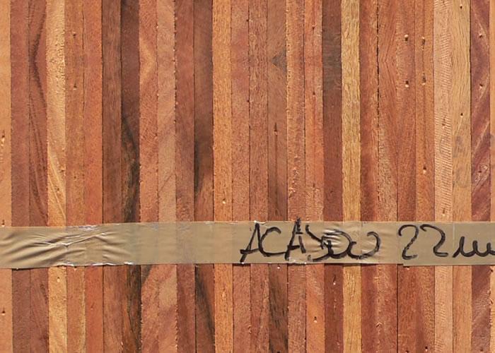 Parquet Industriel Acajou - 10 x 08 x 250 mm sur chants massif