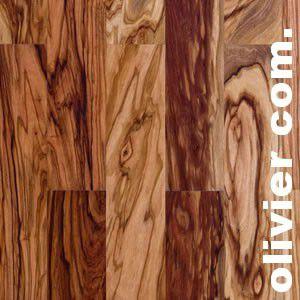 Parquet massif planchette Olivier Commercial - 10 x 60 x 300 mm - Brut