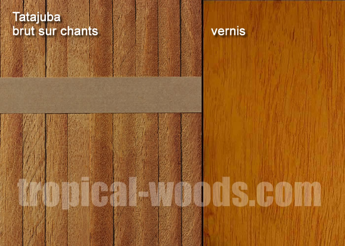 Parquet Industriel Tatajuba - 14 x 17 x 210 mm sur chants