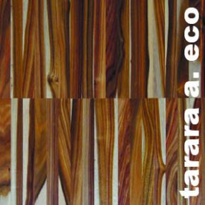 Parquet industriel Tarara Amarilla ECO - 14 x 22 x 250 mm - Sur chants