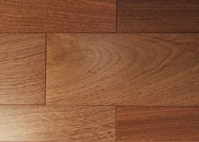 Parquet massif Sapelli - 15 x 120 mm - brut