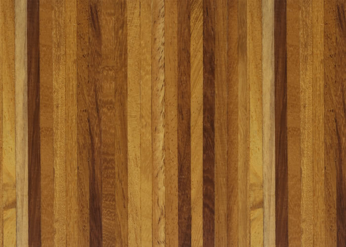 Parquet Industriel Iroko - 10 x 10 x 250 mm sur chants