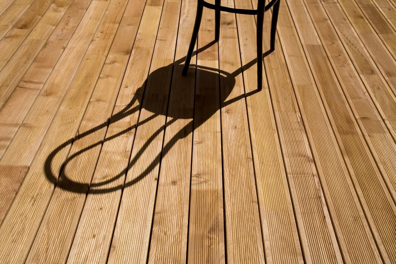 Terrasse - Lames parquet massif Acacia - 22 x 120 mm