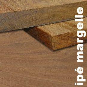 Terrasse - Margelle en Ipe massif - 34 x 290 mm - 1 face lisse