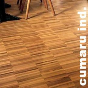 Parquet Industriel Cumaru - 14 x 17 x 300 mm sur chants