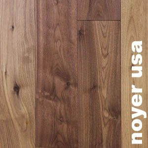 Parquet contrecoll noyer am ricain nature 15 5 x 140 mm for Parquet vitrifie ou huile