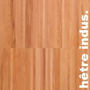 Parquet industriel sur chants en Hetre