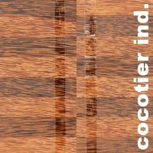 Parquet industriel sur chants en Cocotier