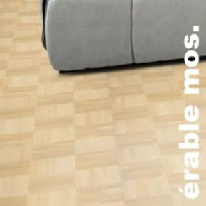Parquet Industriel mosaique a damier en Erable EU - 8 x 160 x 160 mm