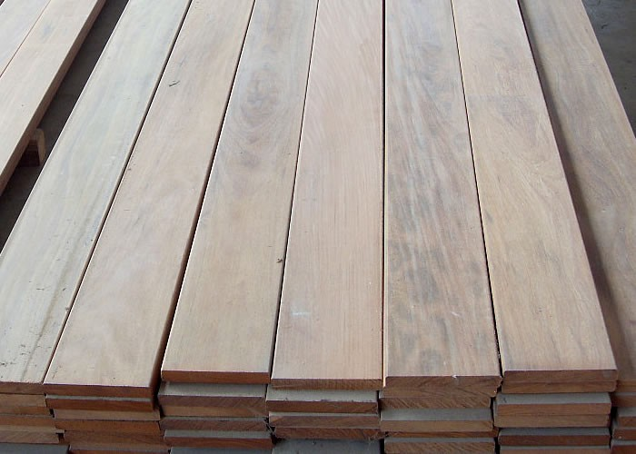 Terrasse - Lames parquet massif IPE - 20 x 140 x 1850 mm - 2 faces lisses