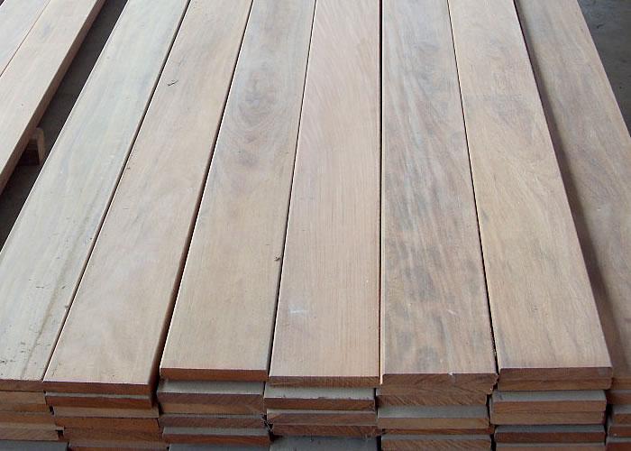 Terrasse - Lames parquet massif IPE - 20 x 140 x 1850 mm + - Strié 6V