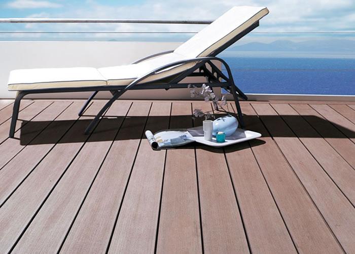 Terrasse - Lames parquet massif IPE 5V écoresponsable - 22 x 120 mm