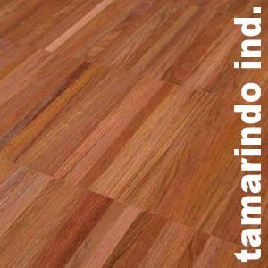 Parquet Industriel Tamarindo - 14 x 17 x 210 mm sur chants