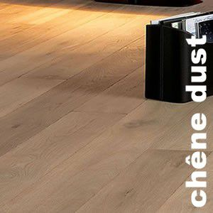 Parquet Contrecollé Chêne Rustique/Campagne - 12 x 145 mm - huilé - Dust