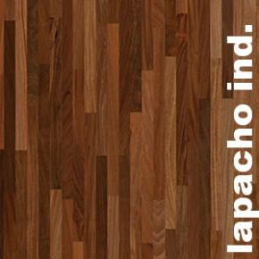 Destockage parquet industriel sur chants en Ipe Lapacho
