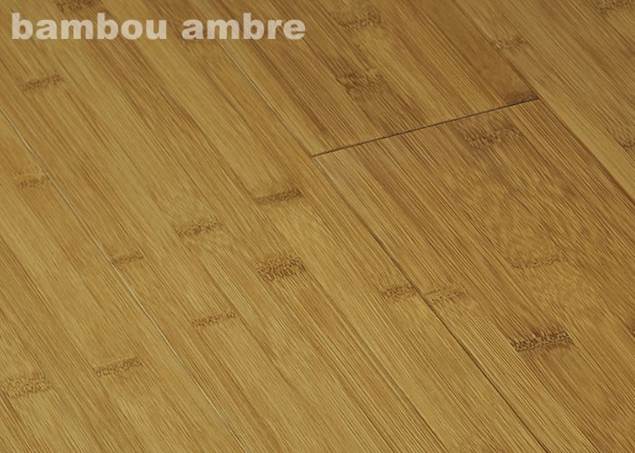 parquet massif bambou ambre 15 x 96 x 960 mm verni ambre. Black Bedroom Furniture Sets. Home Design Ideas