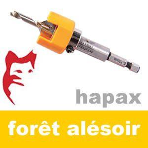 Forêt Alésoir 4/5/6 mm - Hapax