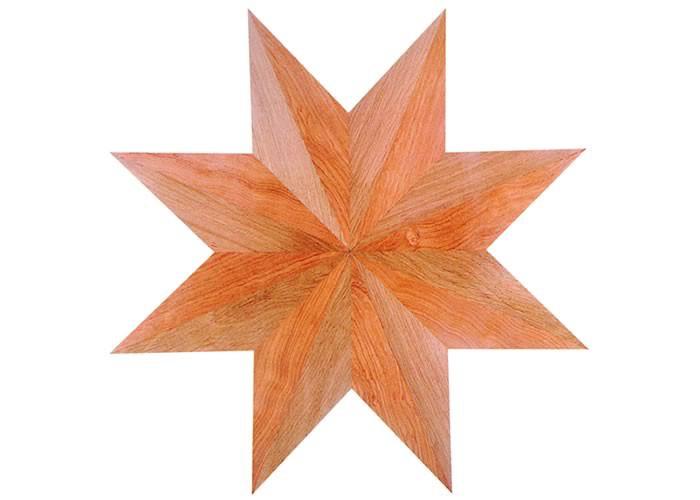Rosace centre de piece en marqueterie Nabucco 14 x 500 mm