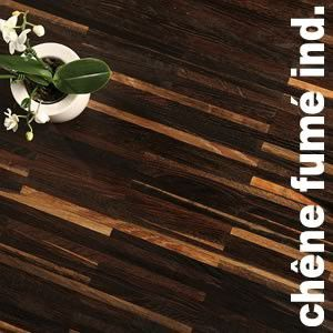 Parquet Industriel Chene fume - 10 x 08 x 160 mm sur chants