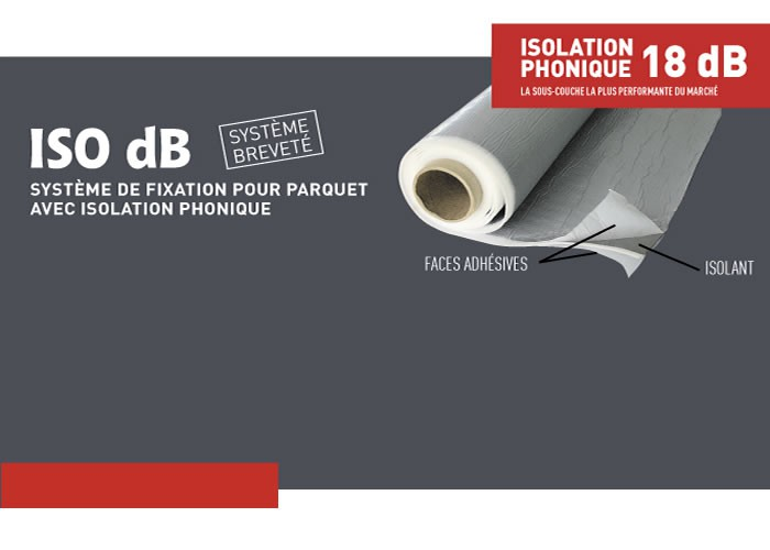 Rouleau ISO dB Phonique - 18 dB