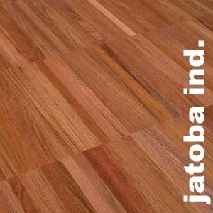 Parquet industriel sur chants en Jatoba