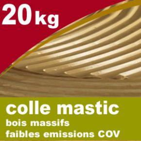 Colle PU monocomposant - seau de 20 kg - Faible COV