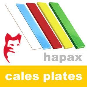 Hapax - Cales plates 3 x 22 x 100 mm