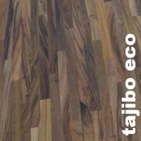 Parquet Industriel Tajibo - 14 x 180 x 2220 mm sur chants - brut - PROMO