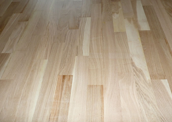 Parquet massif Chene Nature - 23 x 60 mm - Brut