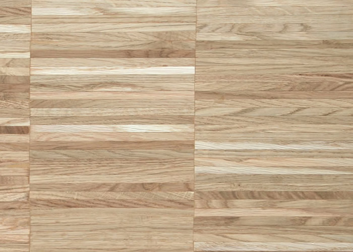Parquet Industriel Chene - 16 x 8 x 160 mm sur chants - brut