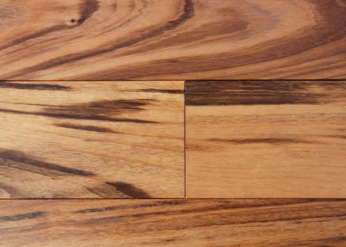 Parquet massif Tigerwood Muiracatiara - 14 x 90 x 400 - 1500 mm - huilé