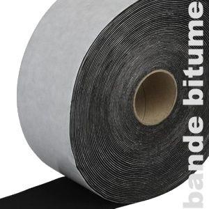 Bande bitumeuse pour lames de terrasse - 7,5 cm x 10 m - 4,2 m2