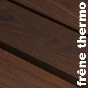 Parquets en bois rétifiés en Frêne thermotraite / rétifié