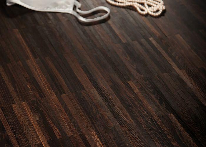 parquet industriel chene fume noir 23 x 8 x 160 mm sur. Black Bedroom Furniture Sets. Home Design Ideas