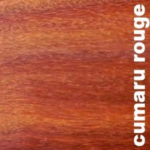Parquet massif planchette Cumaru rouge - 14 x 75 - brut - PROMO