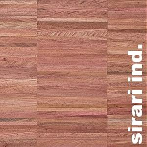 Parquet Industriel Sirari Eco - 14 x 22 x 250 mm sur chants massif