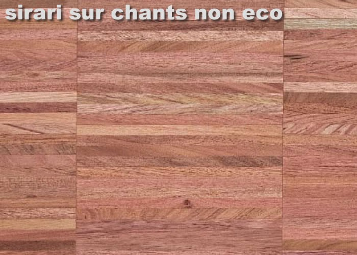 Parquet Industriel Sirari - 22 x 08 x 160 mm sur chants massif