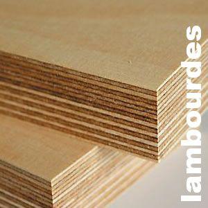 Lambourdes intérieures en contreplaqué aulne et bouleau - 25 x 65/70 mm
