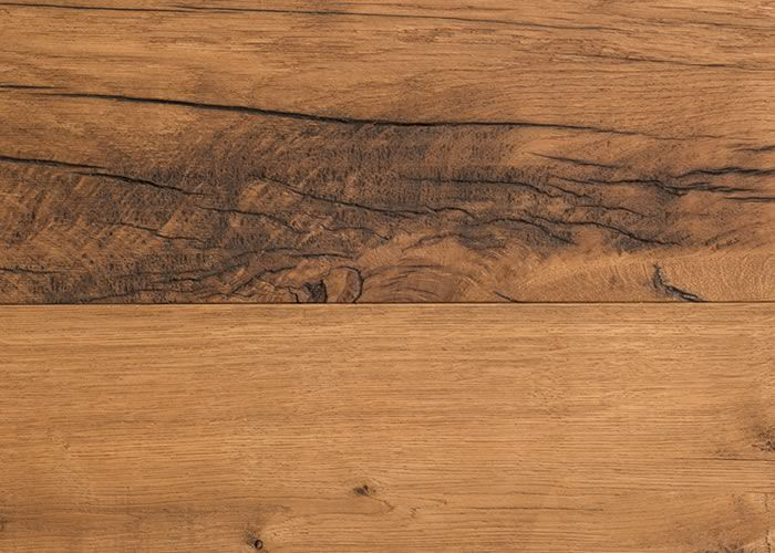 Parquet Chêne ancien recyclé - 17 x 215 mm - teinté - huilé naturel